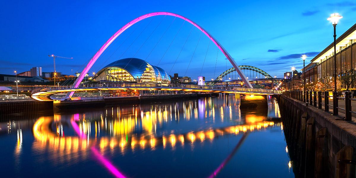 Newcastle Gateshead Millennium Bridge