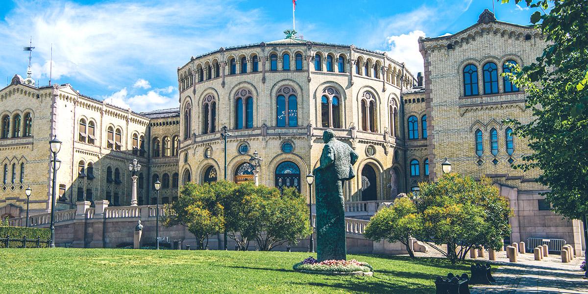 Noorse parlementsgebouw