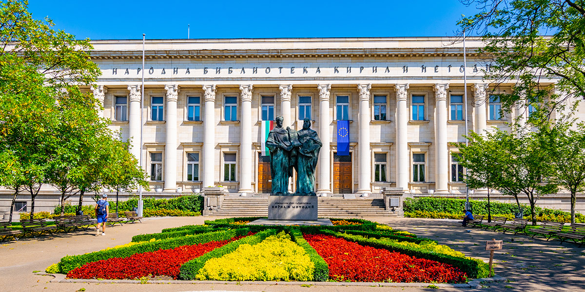 Nationale Bibliotheek in Sofia