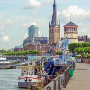 Stedentrip naar Düsseldorf en verblijf in een 4*-Van der Valk hotel