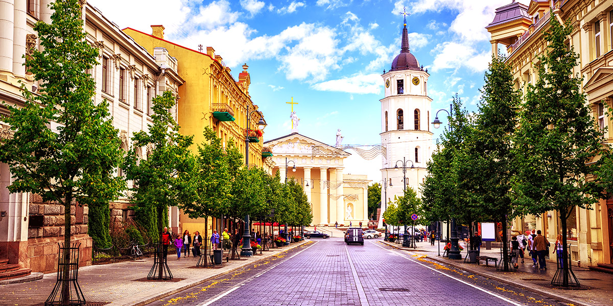 Vilnius Gediminas Avenue