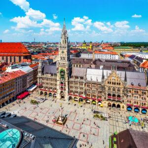 4*-Stedentrip naar München incl. vlucht en ontbijt
