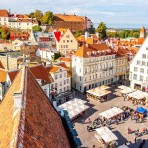 4*-hotel nabij de historische binnenstad van Tallinn incl. vlucht en ontbijt